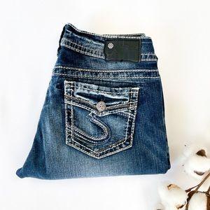 NEW! 29x31 Suki Silver Jeans